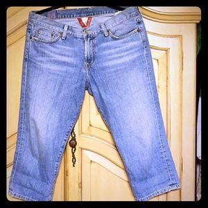 Lucky Jeans Capri size 31/12